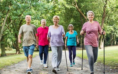 Exercise can help with social isolation of seniors