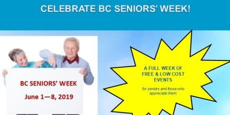 Penticton Seniors' Community Action Committee & BC Seniors' Week