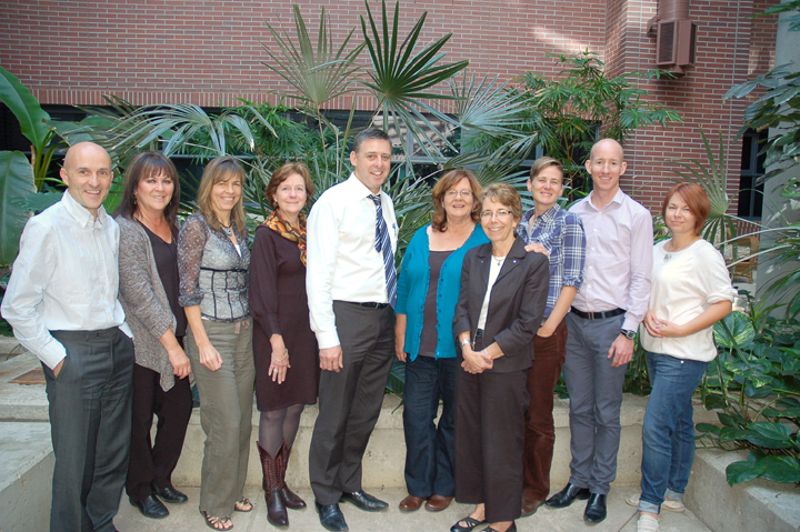 Institute staff and Associates